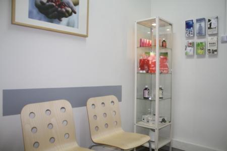 Sala de espera Sant Pau Centre Terapèutic